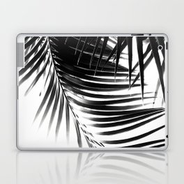 Palm Leaves Black & White Vibes #1 #tropical #decor #art #society6 Laptop & iPad Skin
