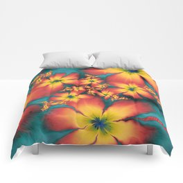 Chintz Flowers Comforters