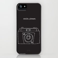 Vintage camera negative iPhone (5, 5s) Slim Case