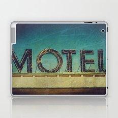 Grunge Motel Sign Laptop & iPad Skin