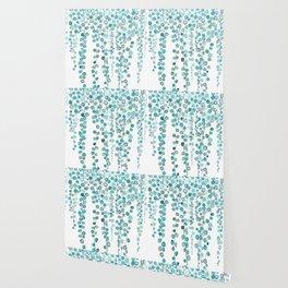String Of Pearls plants watercolor 2 Wallpaper