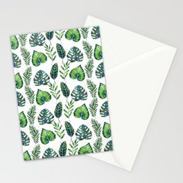 Tropical Ferns Stationery Cards