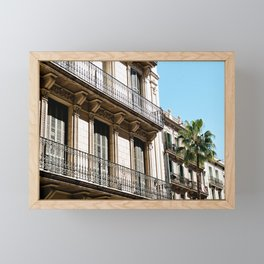 Facade Framed Mini Art Print