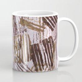 Abstract striped art painting Coffee Mug