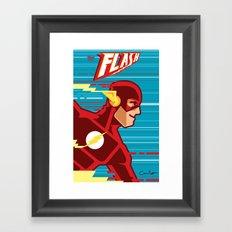 the FLASH! Framed Art Print