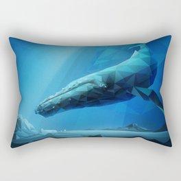 Leviathan (Blue) Rectangular Pillow