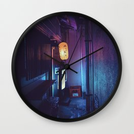 Tokyo Nights / Lonely Lantern / Liam Wong Wall Clock