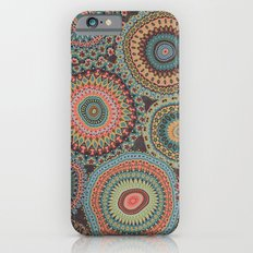 Boho Patchwork-Vintage colors iPhone 6s Slim Case