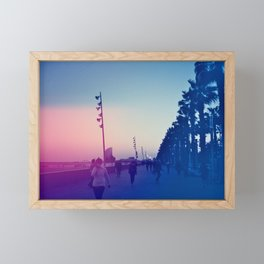 Promenade Framed Mini Art Print