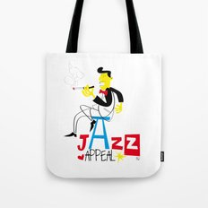 jazz appeal Tote Bag