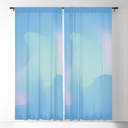 Blue serenity Blackout Curtain