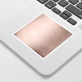 Moon Dust Rose Gold Sticker
