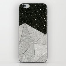 Stripe Mountains iPhone & iPod Skin