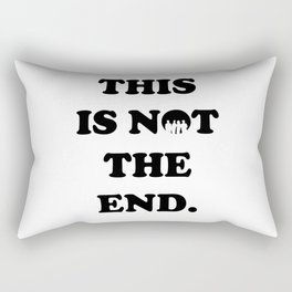 THIS IS NOT THE END. (ONE DIRECTION) Rectangular Pillow