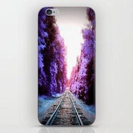 Train Tracks Bright iPhone Skin
