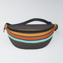 5 Thin Colorful Stripes 19 Fanny Pack