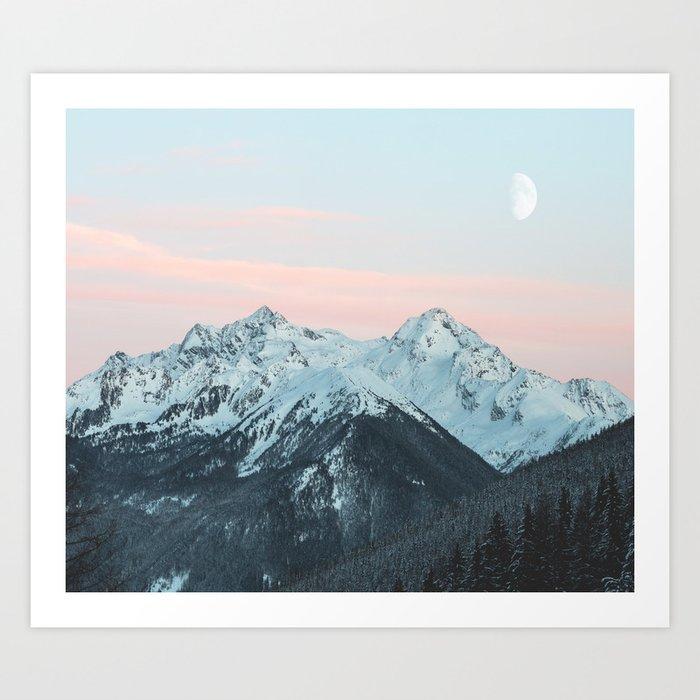 mountain Kunstdrucke