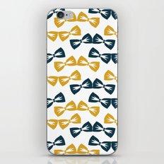 Zany Du Bow Tie Pattern iPhone & iPod Skin