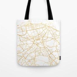EDINBURGH SCOTLAND CITY STREET MAP ART Tote Bag