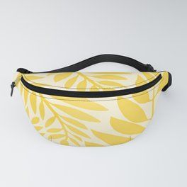 Golden Yellow Leaves Fanny Pack