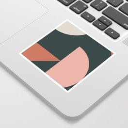 Orbit 04 Modern Geometric Sticker