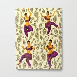BOLLYWOOD DANCERS Metal Print