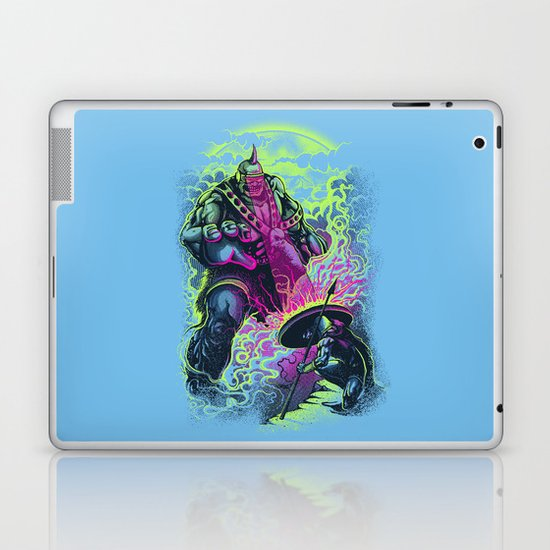 Magnysseus vs the Cyclops: X-Odyssey Laptop & iPad Skin