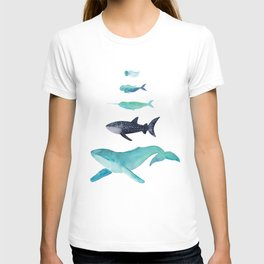 Ocean collection: Deep under the sea T-shirt