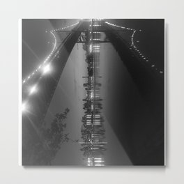PASSING REFLECTION Metal Print