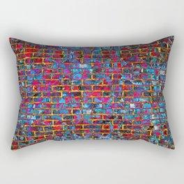Grunge Wall One Rectangular Pillow