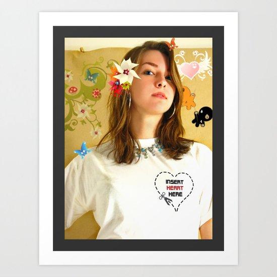 T Shirt Promo Art Print
