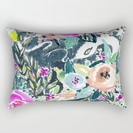 SNAKE IN THE GARDEN Rectangular Pillow