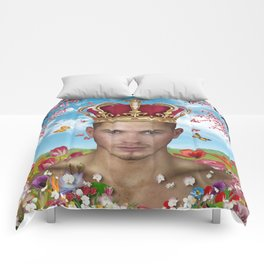 free portrait Comforters