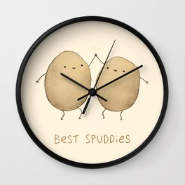 Best Spuddies Wall Clock