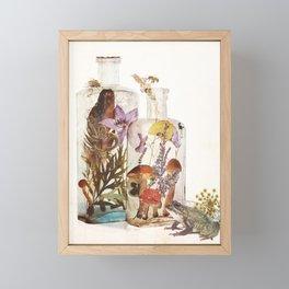 WITCH BOTTLES Framed Mini Art Print