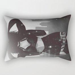 City Punk rock Lady Rectangular Pillow