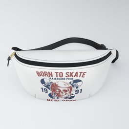 Born to Skate Fanny Pack