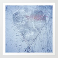 Heart of Glass Art Print