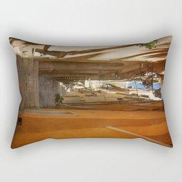 Textured Alleyway Rectangular Pillow