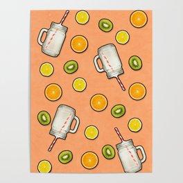 Summer fruit #society6 Poster