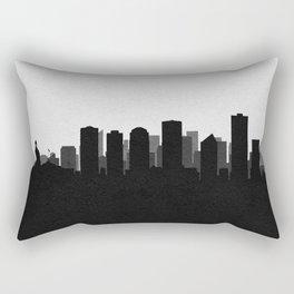 City Skylines: Edmonton Rectangular Pillow