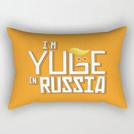 I'm Yuge in Russia Rectangular Pillow
