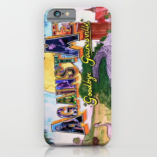 """Goodbye Gainesville"" by Cap Blackard iPhone & iPod Case"