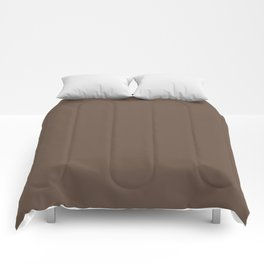 Rich Cocoa (Brown) Color Comforters