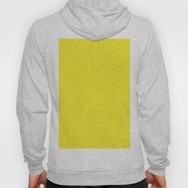 Lemon Yellow Solid Color Hoody