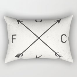 Fuck Rectangular Pillow