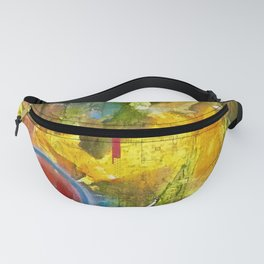 I Dance Boundless Through Space and Time Fanny Pack