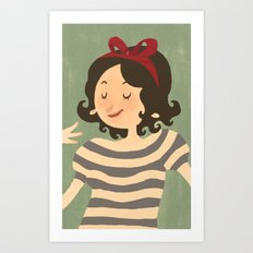 Stripes #1 Art Print