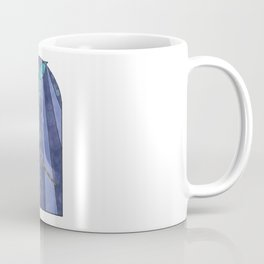 Narwhal Stained Glass Window Abstract Art Coffee Mug