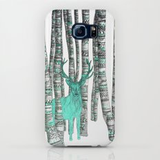 Turquoise Stag Galaxy S7 Slim Case